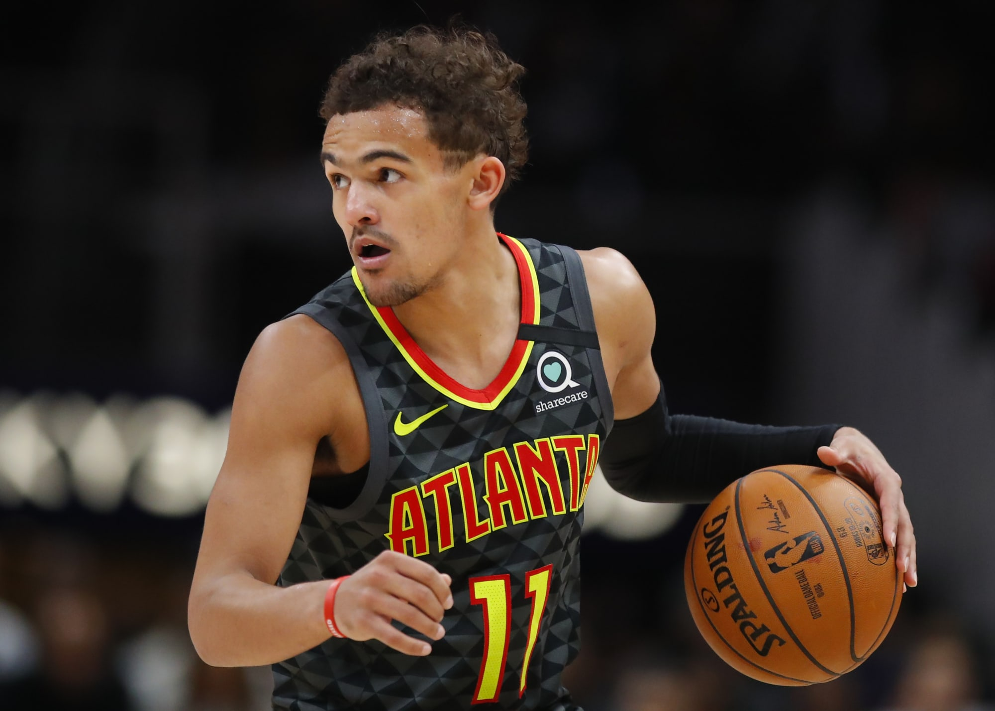Photo of Trae Young is already playing basketball again, for some reason