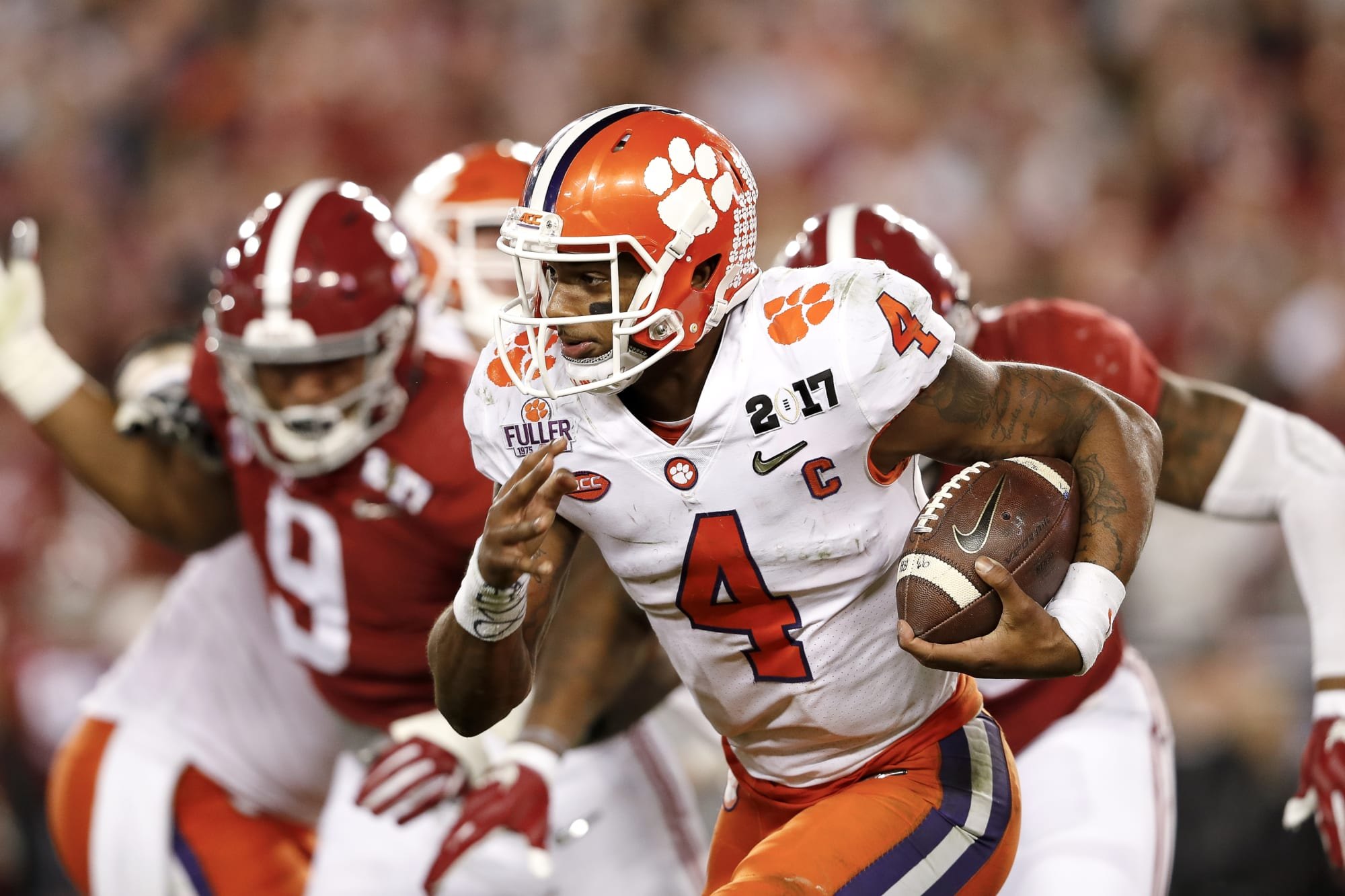 Photo of Deshaun Watson thinks he was robbed of a Heisman at Clemson