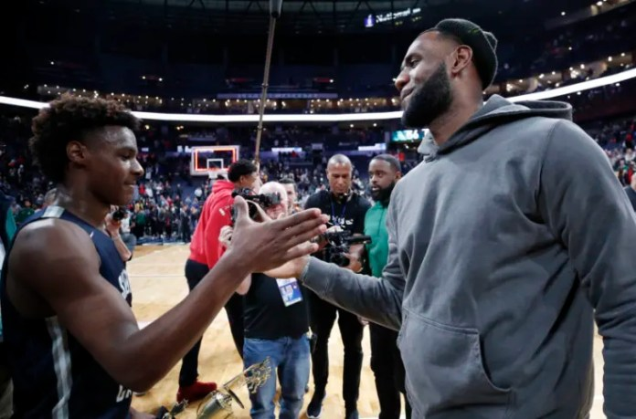 LeBron James and Bronny putting in work together has us daydreaming