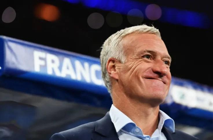 Didier Deschamps announces World Cup squad for France