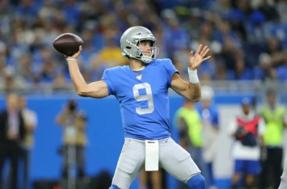 Detroit Lions: Matthew Stafford's play still in question
