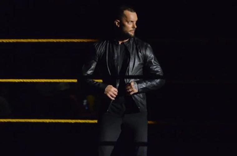 Finn Balor on the Oct. 30, 2019 edition of WWE NXT. Photo: WWE.com