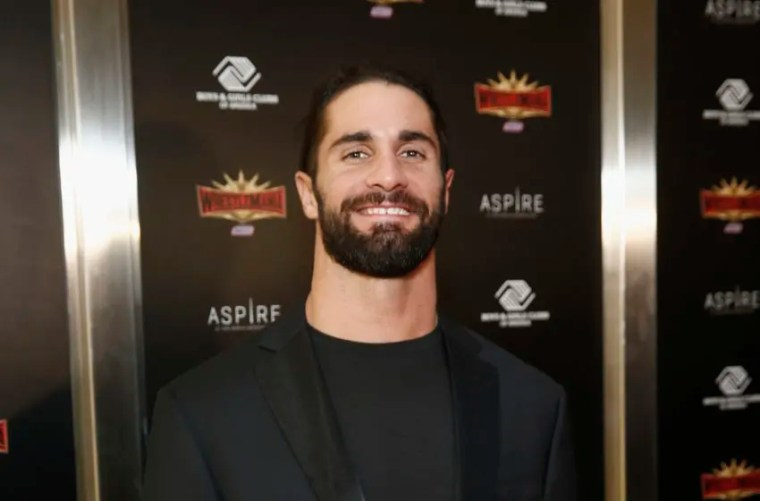 NEW YORK, NEW YORK - APRIL 05: WWE Superstar Seth Rollins attends the WWE Superstars For Hope Reception on April 05, 2019 in New York City. (Photo by Brian Ach/Getty Images for WWE)