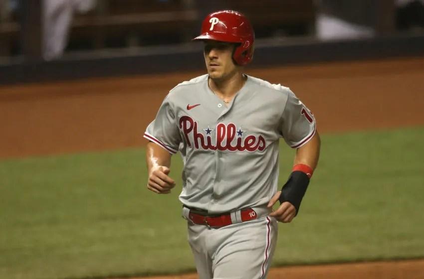 J.T. Realmuto, Philadelphia Phillies. (Mandatory Credit: Sam Navarro-USA TODAY Sports)