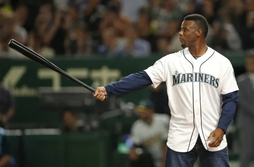 Ken Griffey Jr., Seattle Mariners. (Mandatory Credit: Darren Yamashita-USA TODAY Sports)