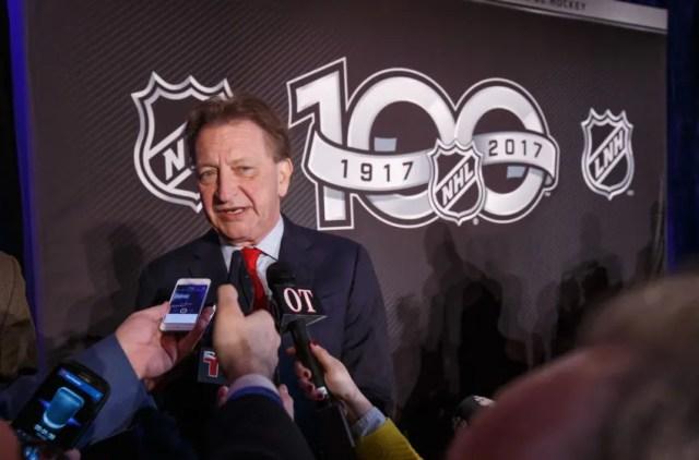 OTTAWA, ON - MARCH 17: Ottawa Senators Owner, Governor