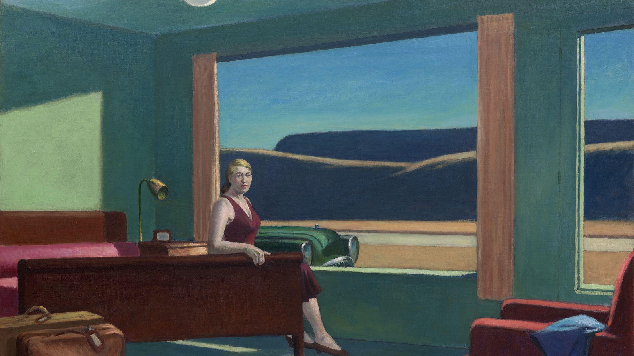 Edward Hopper Western Motel Turned Hotel