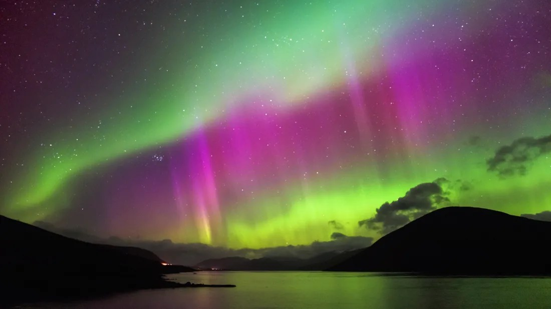 the northern lights could