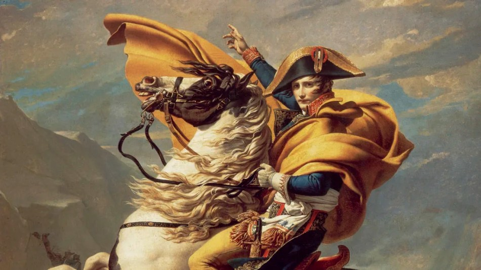 a picture of napoleon. music creative writing.