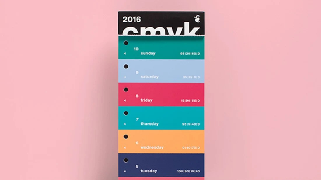 cmyk swatch calendar changes