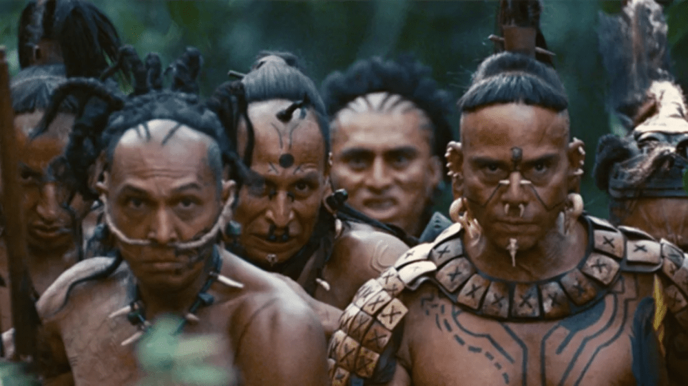 Check Out Behind the scene photos from the popular movie apocalypto.