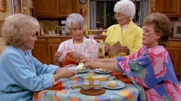 7 Times the Golden Girls Talked It Out Over Cheesecake | Mental Floss