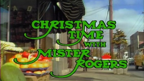 Image result for mister rogers christmas episode""