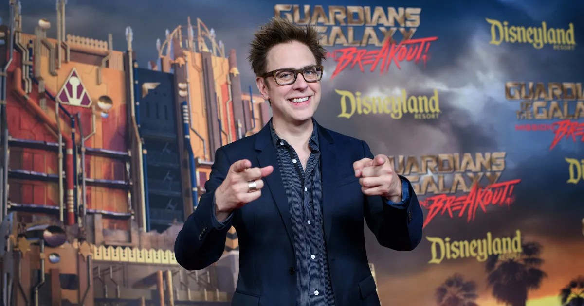 James Gunn Hired Back for Guardians of the Galaxy 3  floor8
