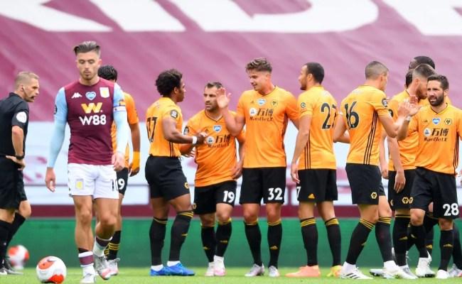 Aston Villa 0 1 Wolves Report Ratings Reaction As Nuno