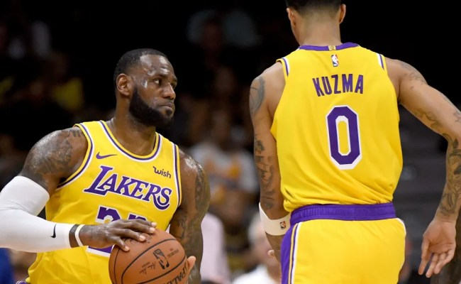 Lakers Projected Starting Lineup Following Anthony Davis