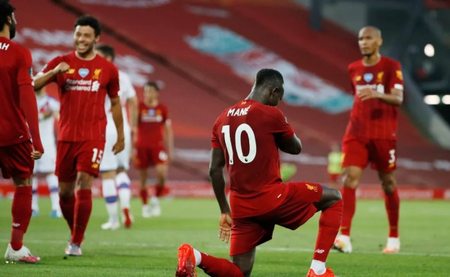 Liverpool 4 0 Crystal Palace Report Ratings Reaction