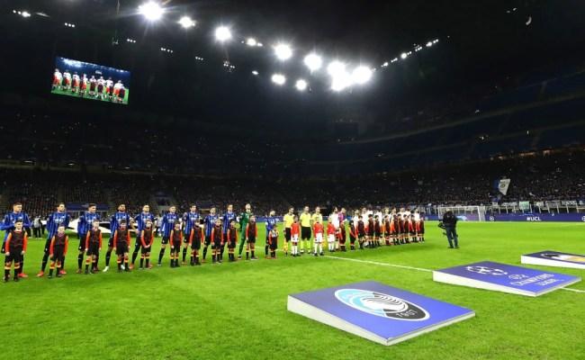Valencia Vs Atalanta Becomes First Champions League Tie To