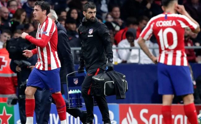 Atlético Madrid S José Maria Giménez Ruled Out Of Huge