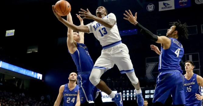 Image result for Creighton Bluejays vs Xavier Musketeers Live NCAA Men's College Basketball