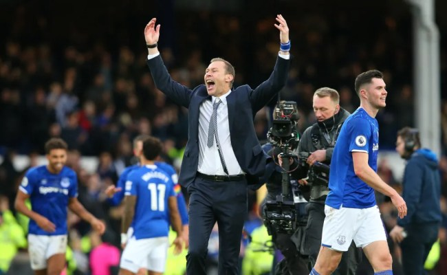 Everton S Remarkable Stats In Win Over Chelsea Highlight
