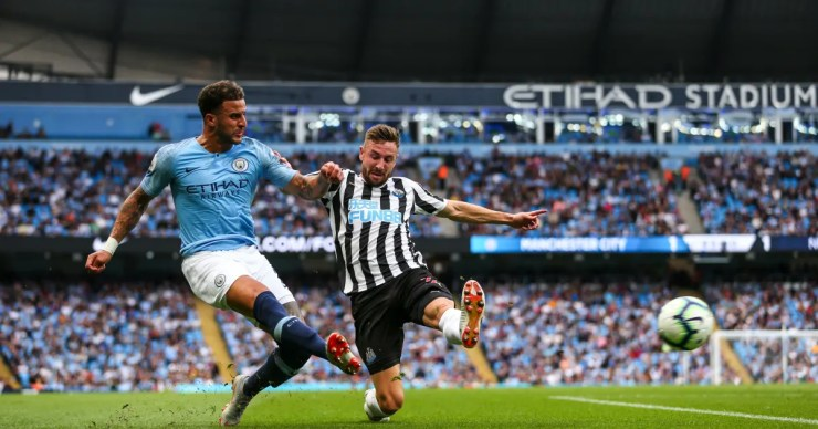 Pep Guardiola latest comment will not make Manchester City players and fans happy. manchester city v newcastle united premier league 5c4dd3f4d6327c1adc000001
