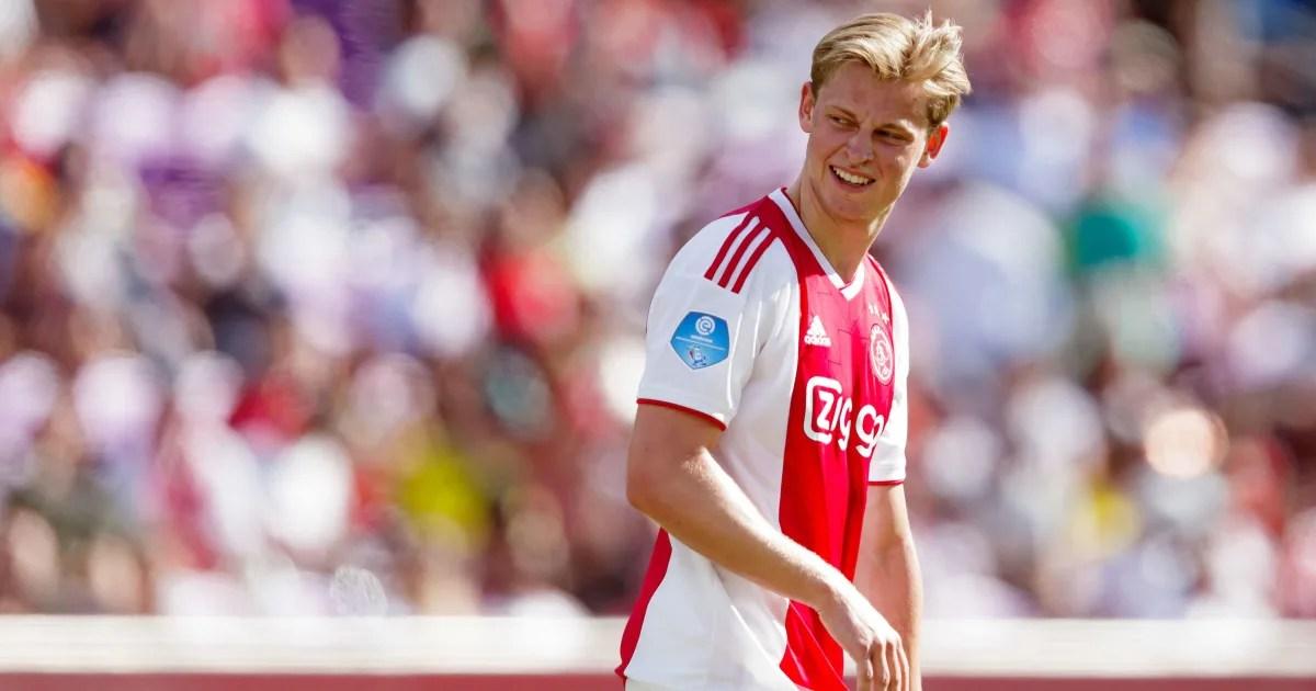 Tottenham Set To Match Highest Bid For Frenkie De Jong If