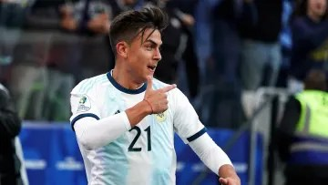 Dybala in the National Team
