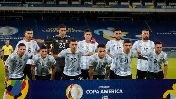 Argentina v Chile: Group A - Copa America Brazil 2021 - Argentina's formation against Chile.