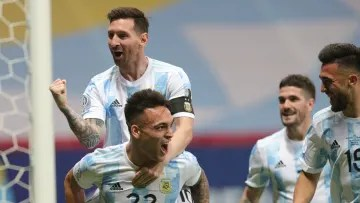 Argentina is a finalist
