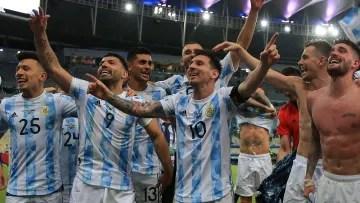 Argentina won the Copa América 2021