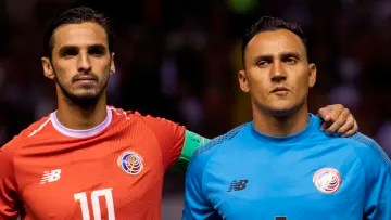 Bryan Ruiz will be in charge of guiding the Costa Rican team in the Gold Cup, while Keylor Navas was absent once more.