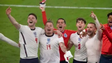 England are competing in their first Euros final