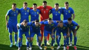 Ukraine's 11 against Sweden