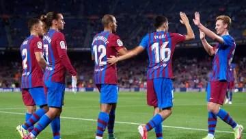 Barcelona will meet their Champios rivals