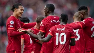 El Liverpool aún no ha sufrido una derrota en todas las competiciones esta temporada por un partido fuera de casa de la Premier League ante el Brentford.