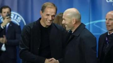 Thomas Tuchel & Zinedine Zidane will butt heads again