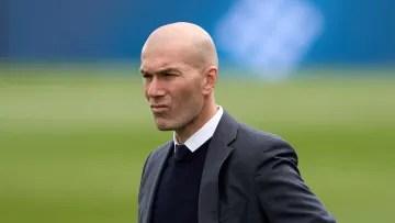 Zinedine Zidane's side face Getafe on Sunday
