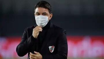 Marcelo Gallardo directing River Plate