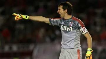 Marcelo Barovero in River Plate