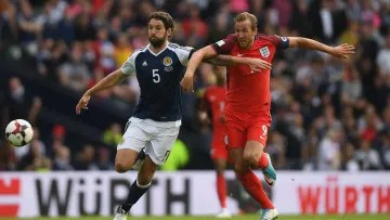 Scotland and England in qualifying for the 2018 World Cup