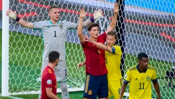 Spain-Sweden from the last Euro 2020