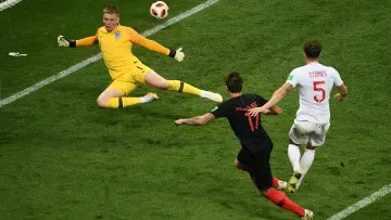 England and Croatia already met in the 2018 World Cup
