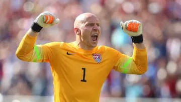 Brad Guzan would be the starting goalkeeper for the United States in the Gold Cup