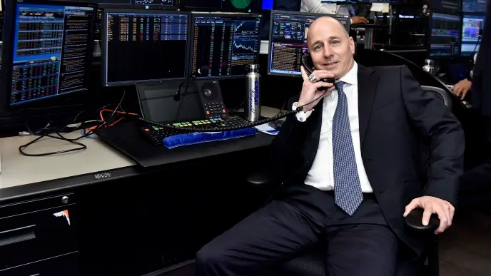 NEW YORK, NEW YORK - SEPTEMBER 11: Brian Cashman attends the Annual Charity Day Hosted By Cantor Fitzgerald, BGC and GFI on September 11, 2019 in New York City. (Photo by Eugene Gologursky / Getty Images for Cantor Fitzgerald)