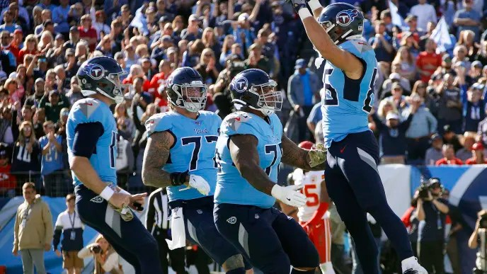 """Image result for titans beat chiefs"""""""