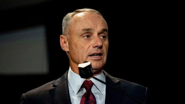 MLB commissioner Rob Manfred will most likely have to create a schedule for the 2020 MLB season and force it on the players.