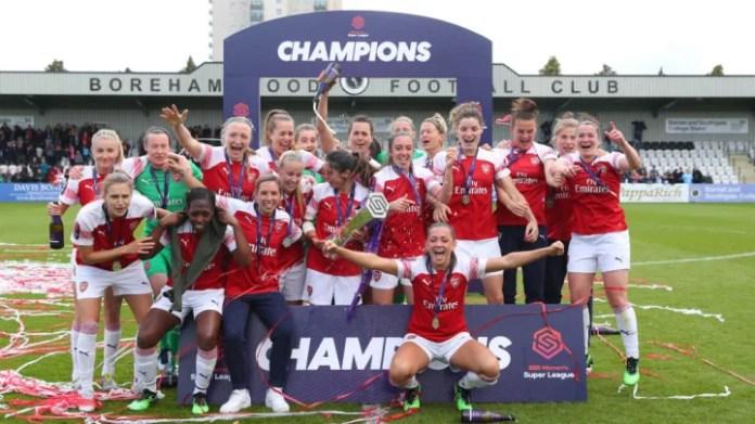 Arsenal Women v Manchester City Women: WSL