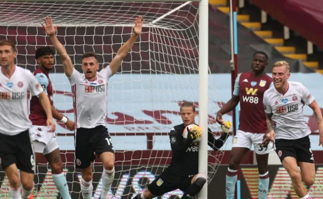 Aston Villa 0 0 Sheffield United Report Ratings