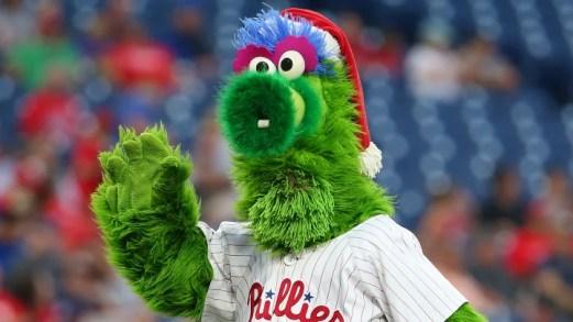 Phillie Phanatic es una de las mascotas más populares de las Grandes Ligas